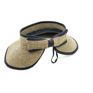 Summer Visor Sun Hat Bow Back